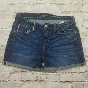 Level 99 Anthropologie Jean Shorts Relaxed Lily 26